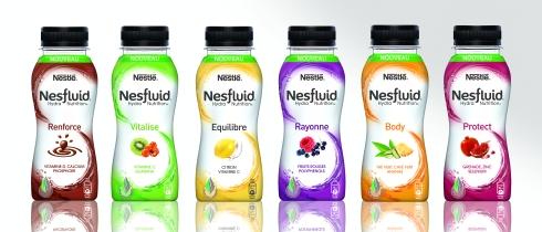 Bouteilles Nesfluid