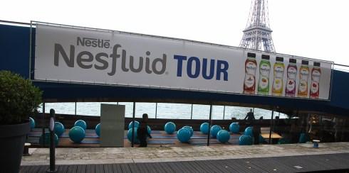La péniche du Nesfluid Tour