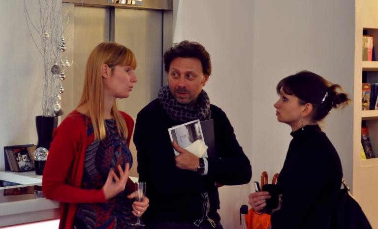Elodie Boutry, Thierry Richard (Chroniques du Plaisir) et Camille Poirier (blog Art et Regards)