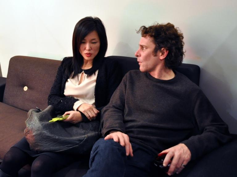 Les artistes Soo-Kyoung Lee et Jean-Marc Thommen