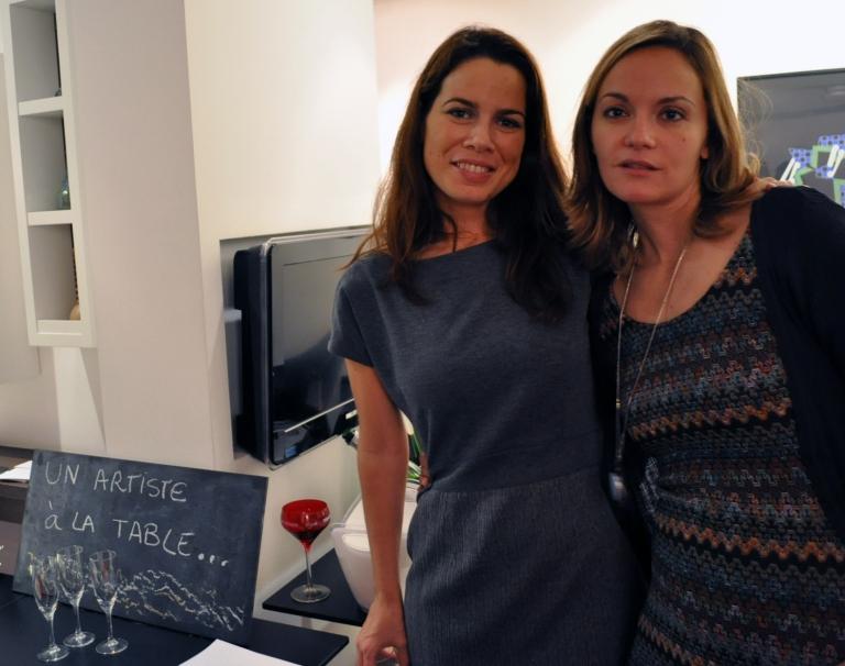 Rosario et Anna de Un Artiste à La Table