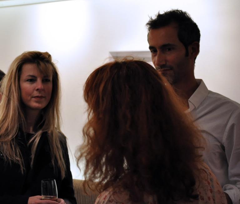 Dominique Planche (Planche.com) et Olivier Breuil, le directeur de l'Hôtel Elysées Mermoz
