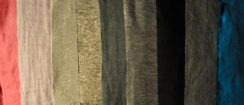 Tissus en lin au Linen Dream Lab Paris