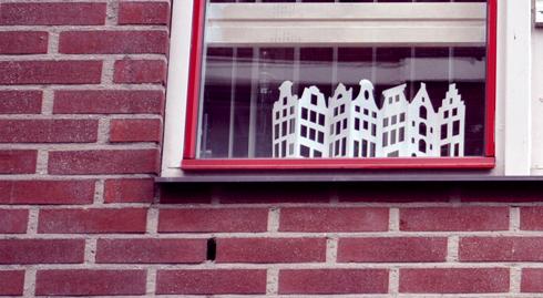 Amsterdam maisons de papier