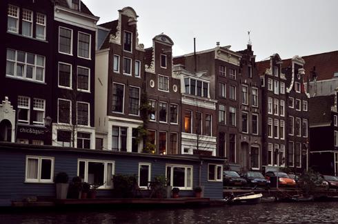 Amsterdam maisons