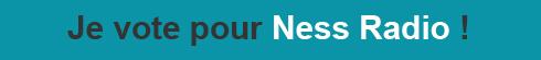 Je vote pour Ness Radio, meilleure application web de l'année!