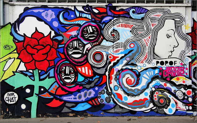 Da Cruz, Artof Popof & Monsieur Chat - Canal de l'Ourcq, Paris