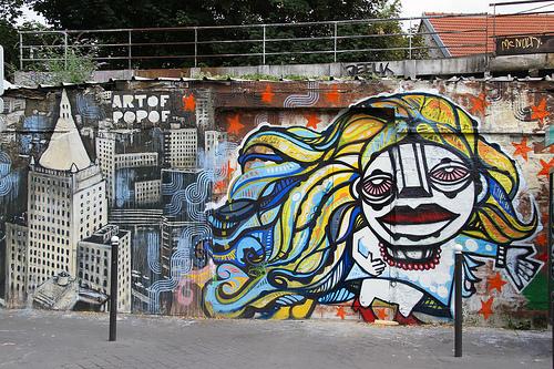 Da Cruz & Artof Popof - Canal de l'Ourcq, Paris