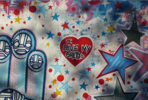 Da Cruz - I love my ghetto - Ourcq, Paris