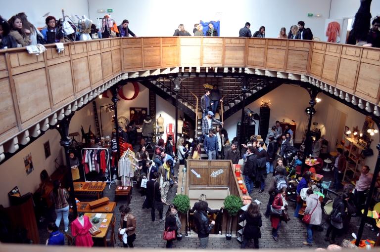 Le Wonder Vintage Market au Bastille Design Center