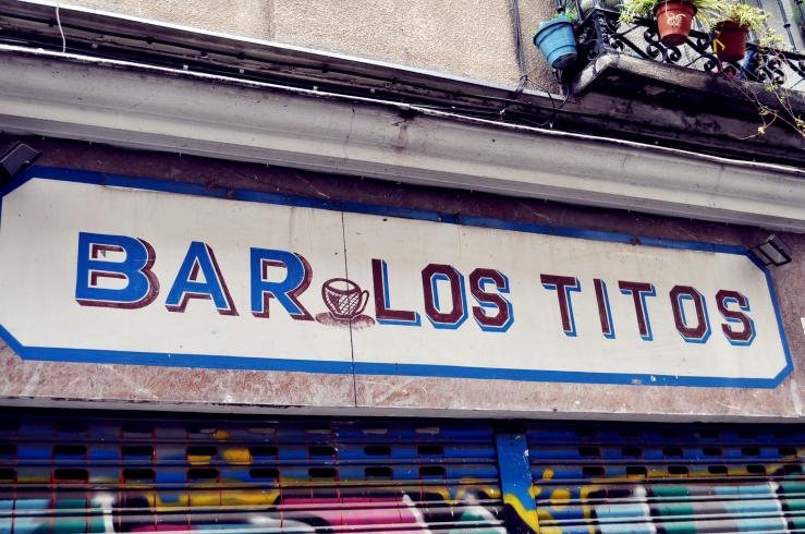 Madrid - Enseigne de bar
