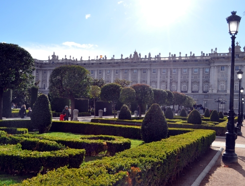 Madrid - Les alentours du Palais Royal
