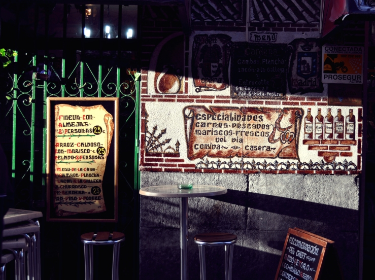 Madrid - Terrasse de bar