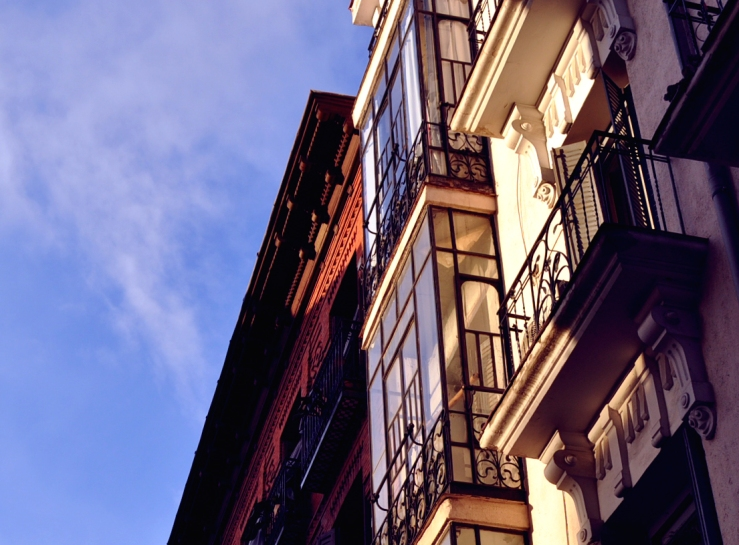 Madrid - Immeubles au soleil