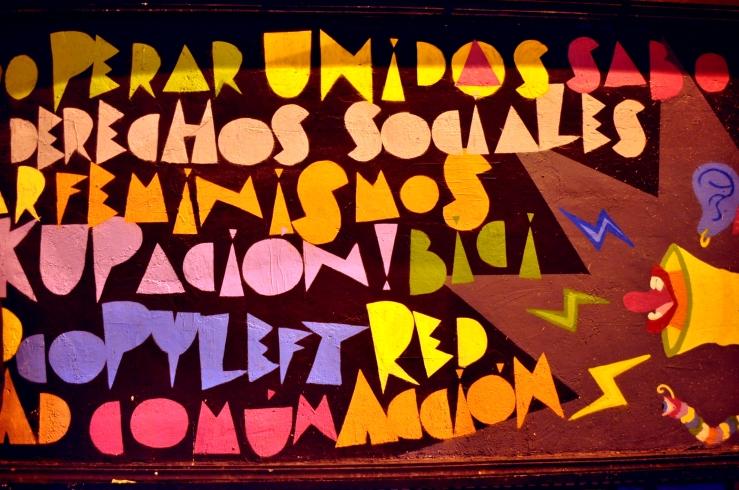 Madrid - Street Art militant