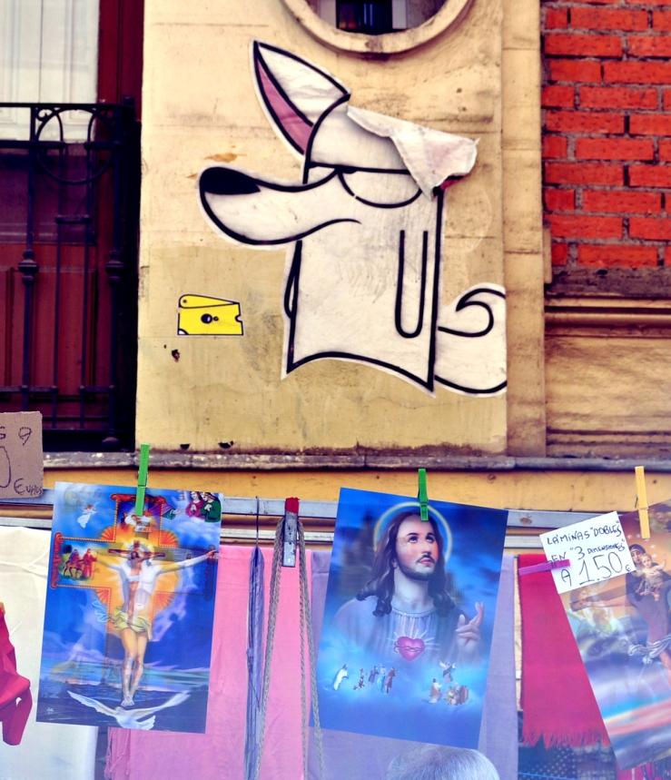 Madrid - Street art et religion