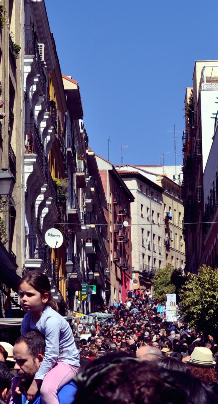 Madrid - El Rastro, le marché aux puces