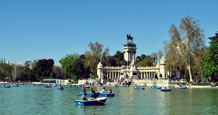 Madrid - Parc du Retiro