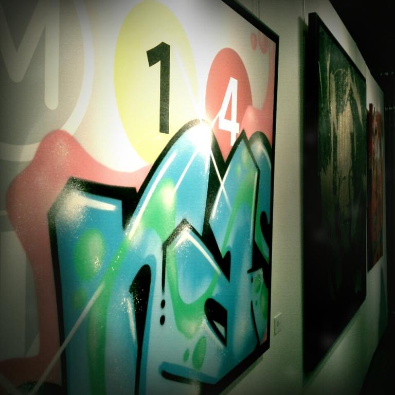 International Urban Art Stade de France - Nasty