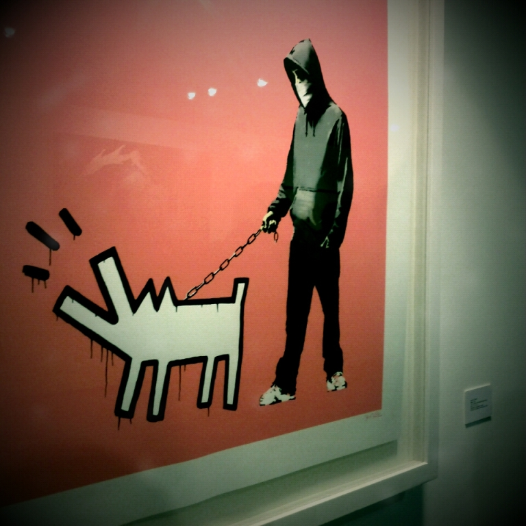 International Urban Art Stade de France - Banksy