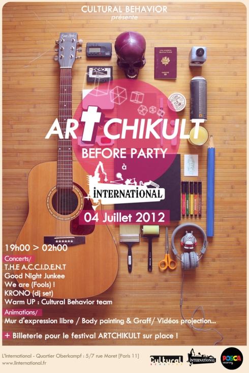 Before Artchikult Cultural Behavior