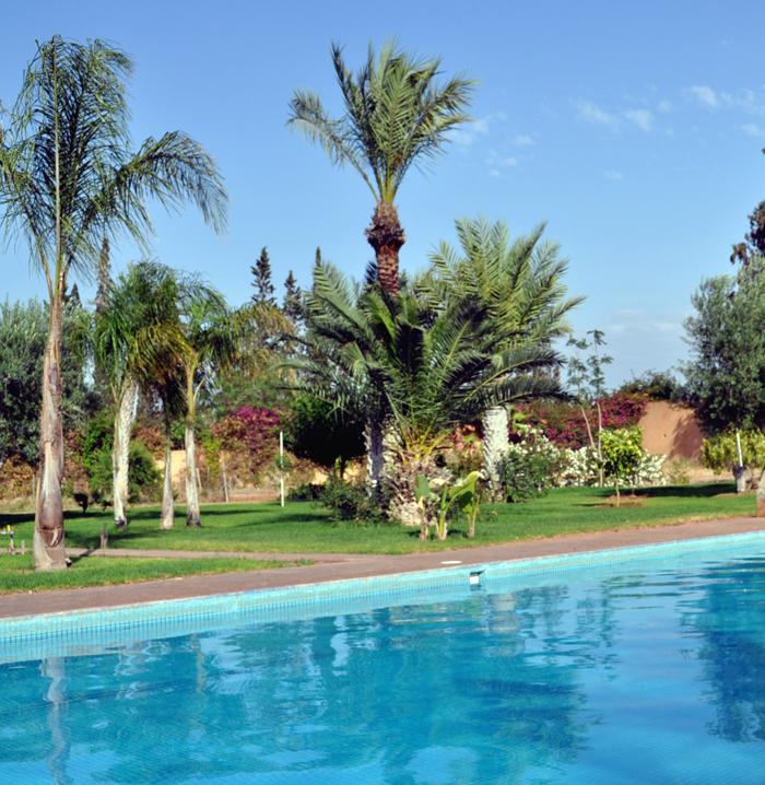Villa avec piscine, La Palmeraie, Marrakech