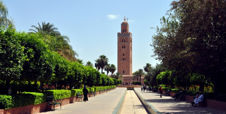 La Koutoubia et ses jardins - Marrakech
