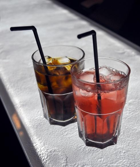 Cocktails au bar restaurant Mama Shelter à Marseille