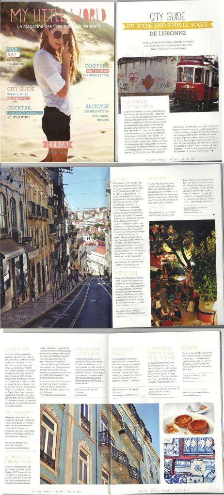 Le city guide de Lisbonne de La Frange dans My Little World