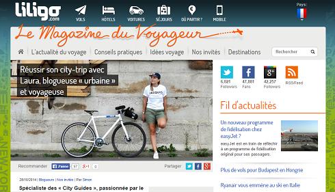 Liligo.fr // Octobre 2014