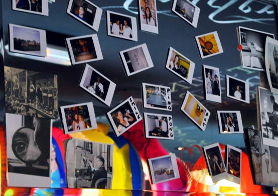 Polaroids déco Mama Shelter Marseille hôtel design