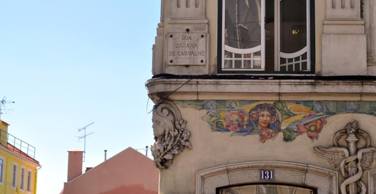 Bel immeuble Lisbonne