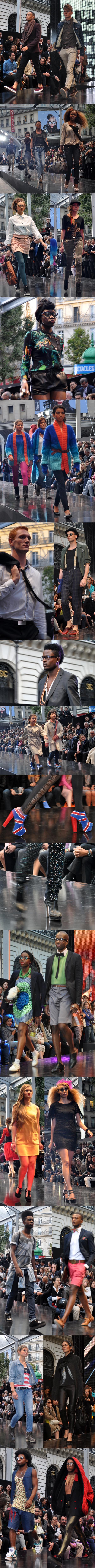Le Plus Grand Défilé de Mode du Monde - Galeries Lafayette Septembre 2012