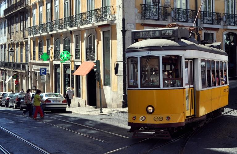 Lisbonne - Le tramway 28
