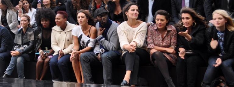 Peoples au Plus Grand Défilé de Mode du Monde des Galeries Lafayette