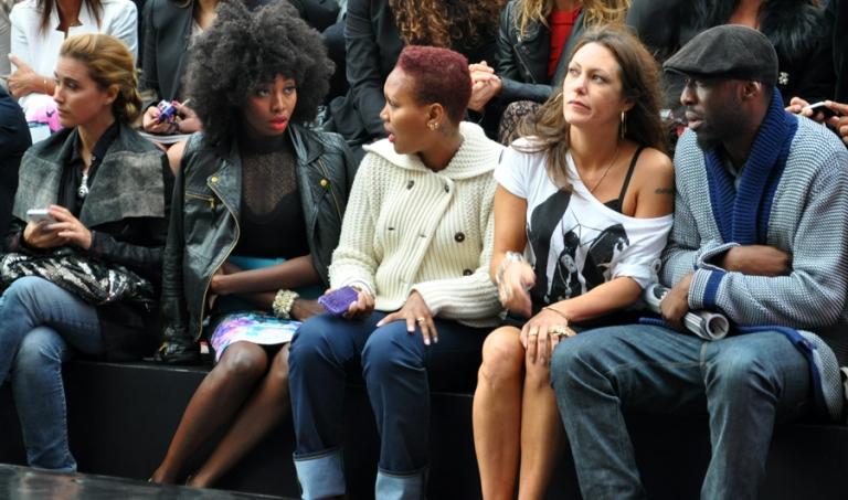 Vahina Giocante, Inna Modja et Thomas Ngijol au Plus Grand Défilé de Mode du Monde des Galeries Lafayette