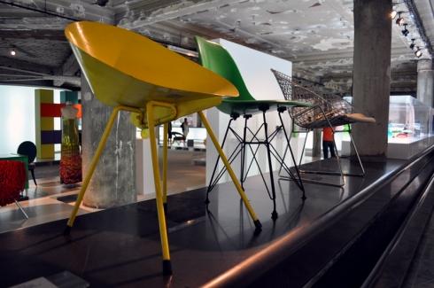 Chaises design au MUDE Lisbonne