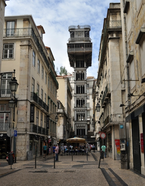 Elevador de Santa Justa Lisbonne