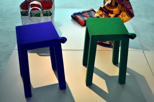 Tabourets design Fernando Brizio