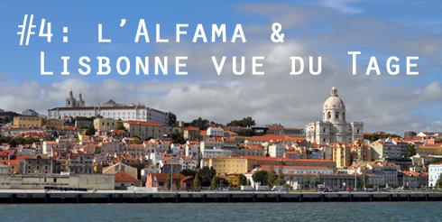 Lisbonne - L'Alfama vue du Tage