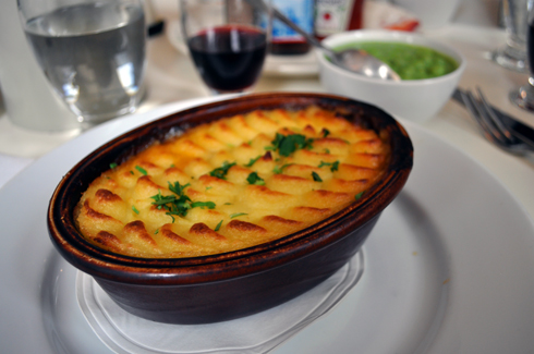 Shepherd's pie at Albion Bakery London