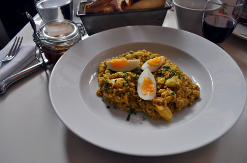 Kedgeree at Albion Bakery London
