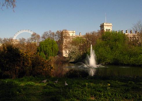 Saint James Park Londres