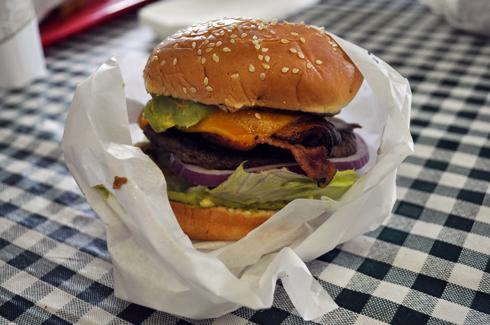 Barn Burger Restaurant Bridgeport California