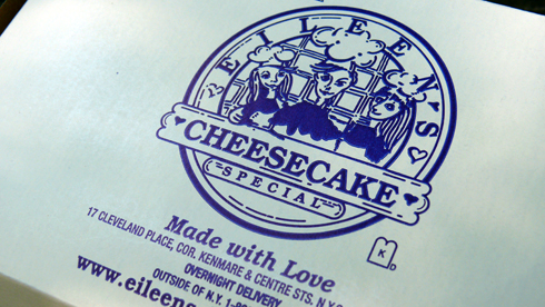 Eileen's Special Cheesecake New York