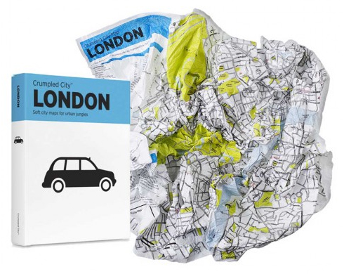 Crumpled City Maps London