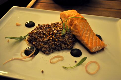 Saumon et Quinoa, Restaurant Le Cul de Poule
