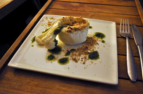 Burrata, Restaurant Le Cul de Poule