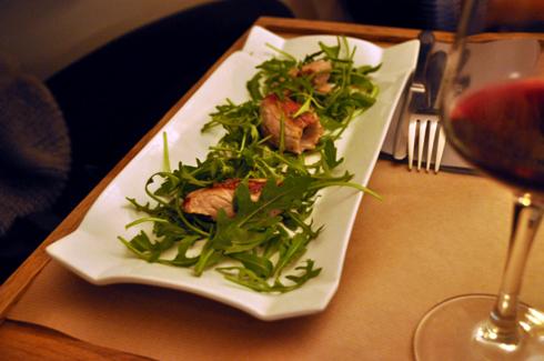 Involtini, Restaurant Le Cul de Poule