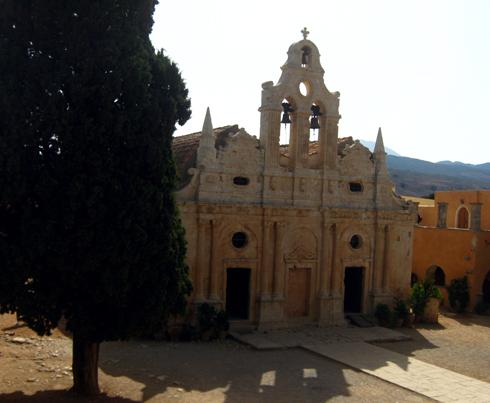 Monastere d'Arkadi, Rethymnon, Crête